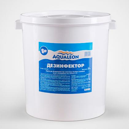 """Дез. ср-во ТМ """"Aqualeon"""" быстрый хлор гранулы (ведро 1 кг)"""
