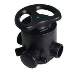 Ручной клапан RUNXIN TM.F64C - умягч, снизу-вверх, до2м3/час
